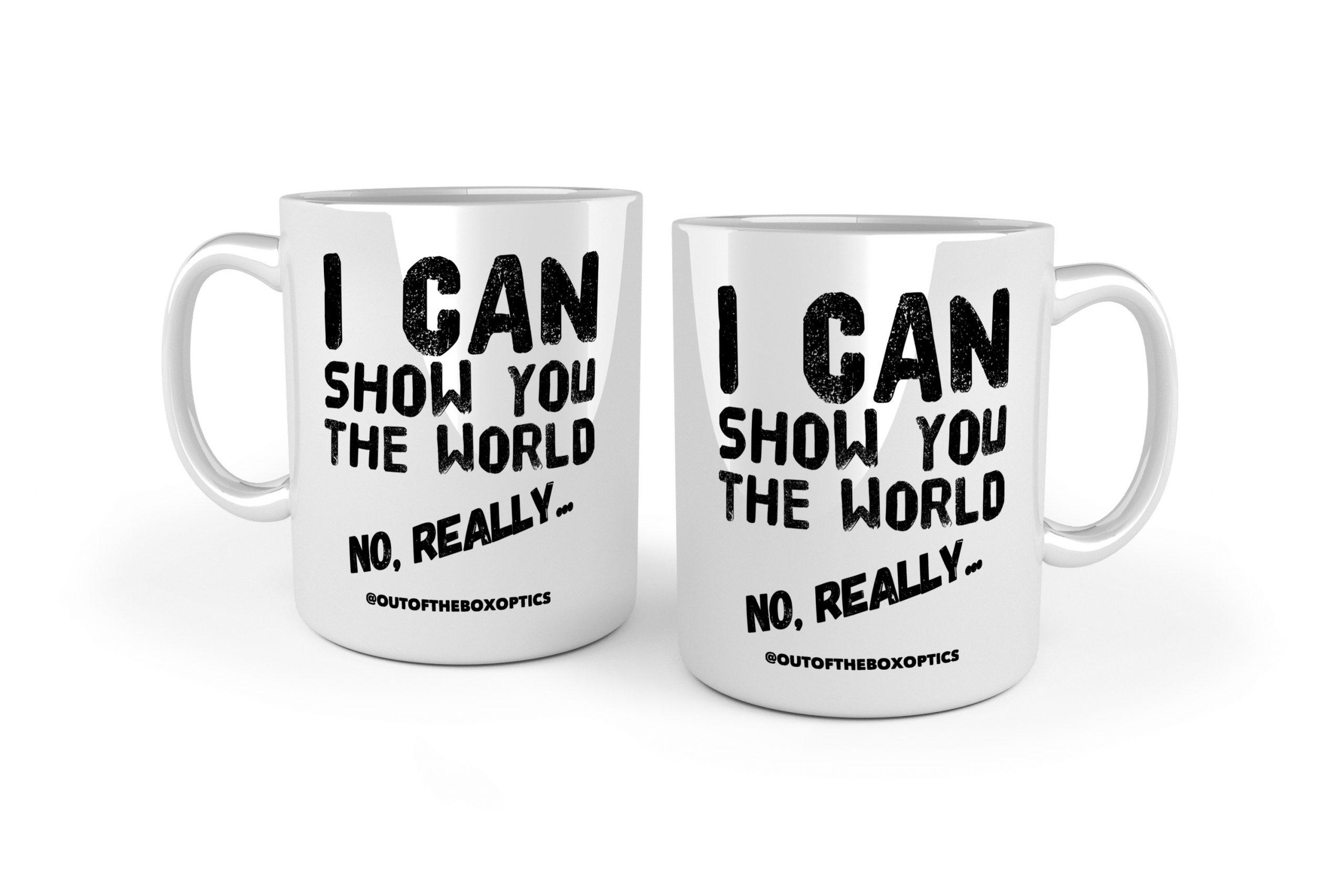 I Can Show You The World – Ceramic Mug MK1