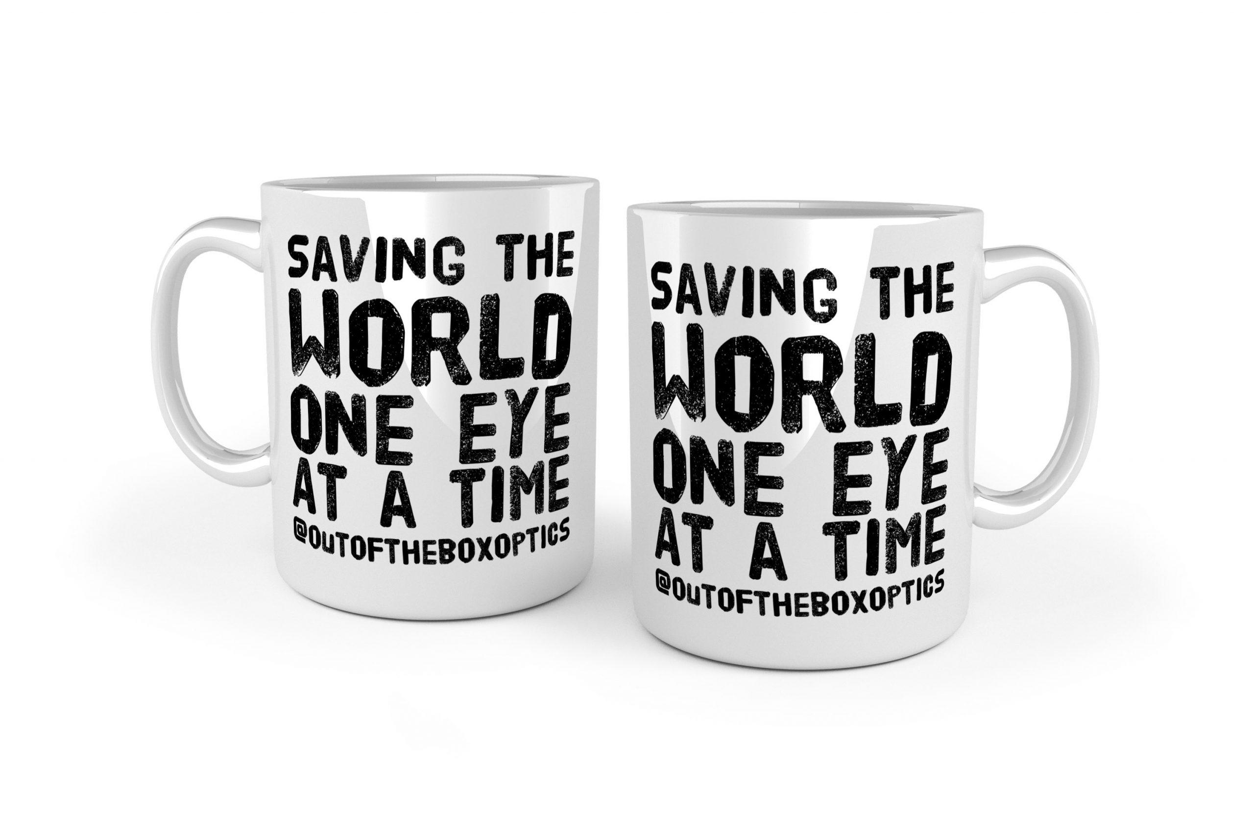 Saving The World – Ceramic Mug