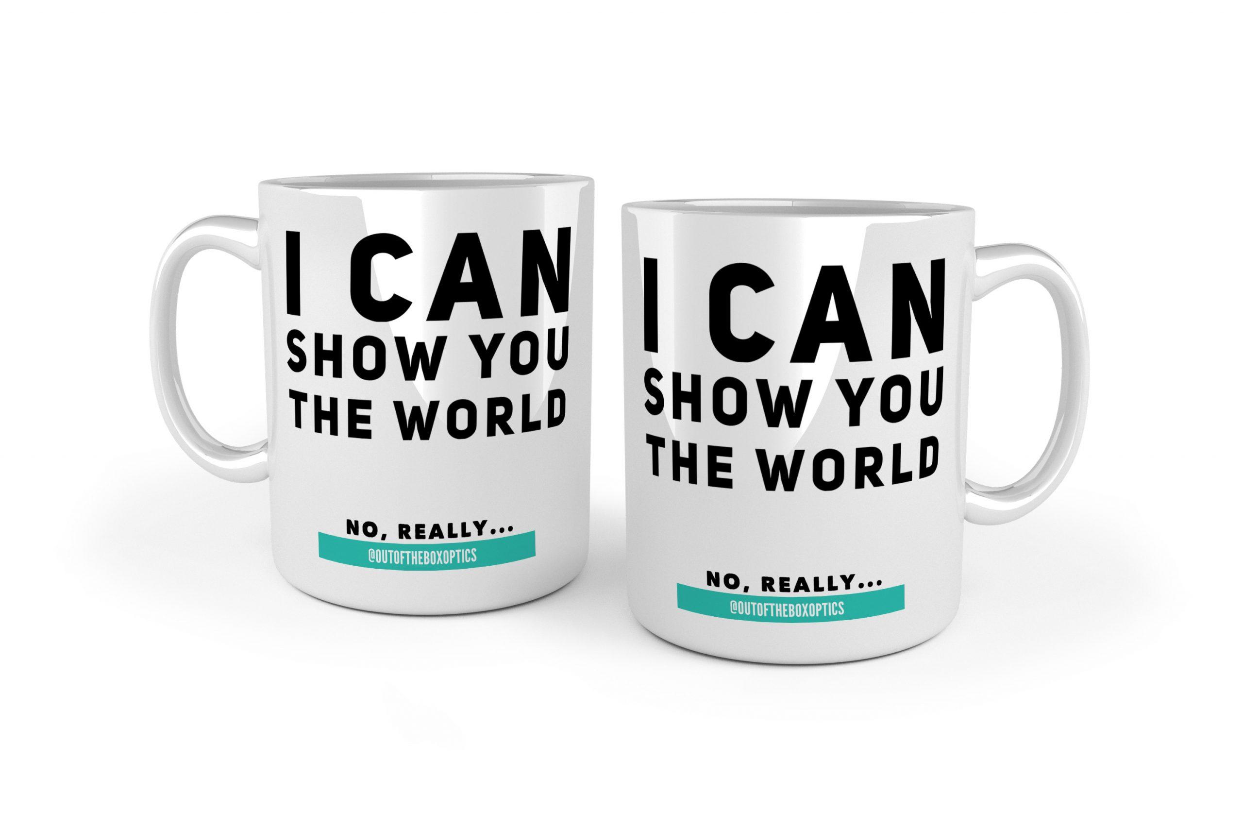 I Can Show You The World – Ceramic Mug MK2