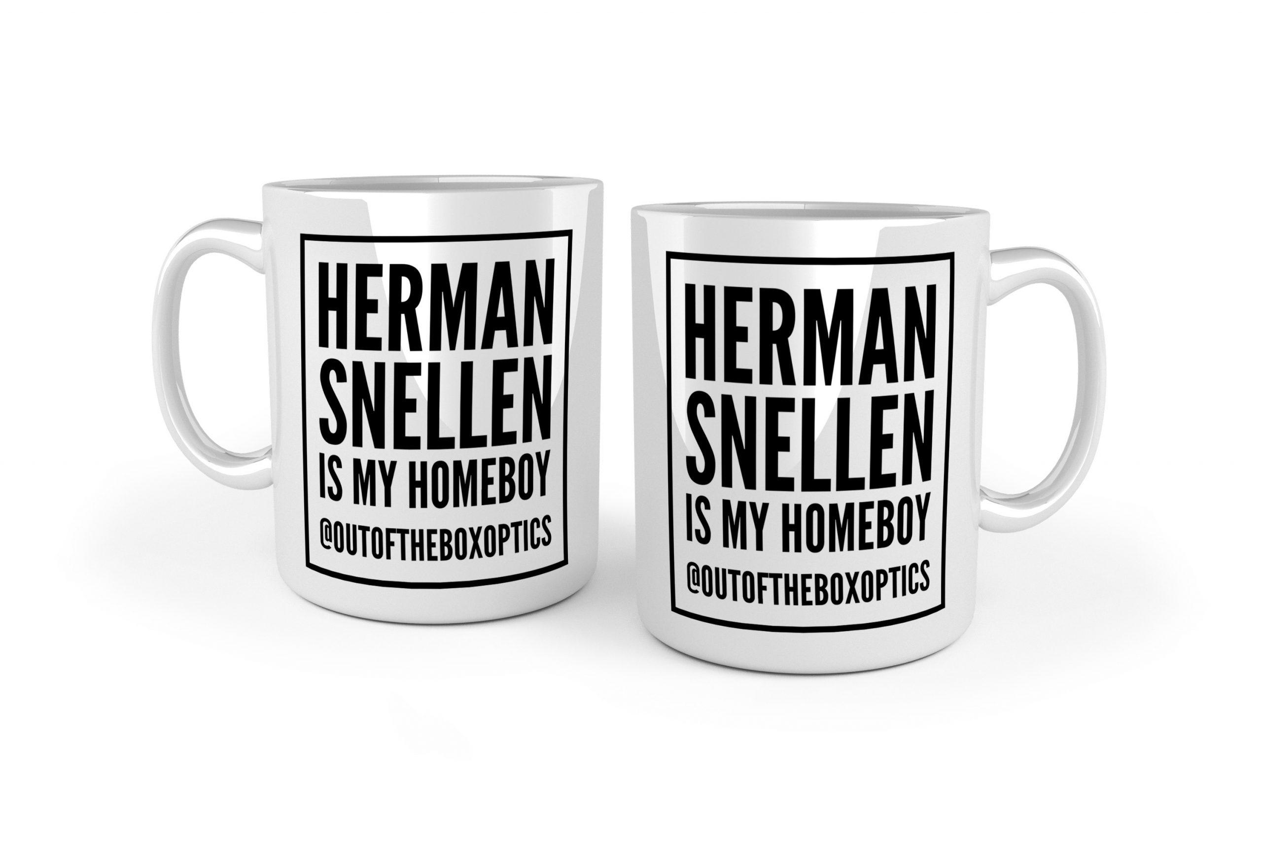 Herman Snellen Is My Homeboy – White Ceramic Mug