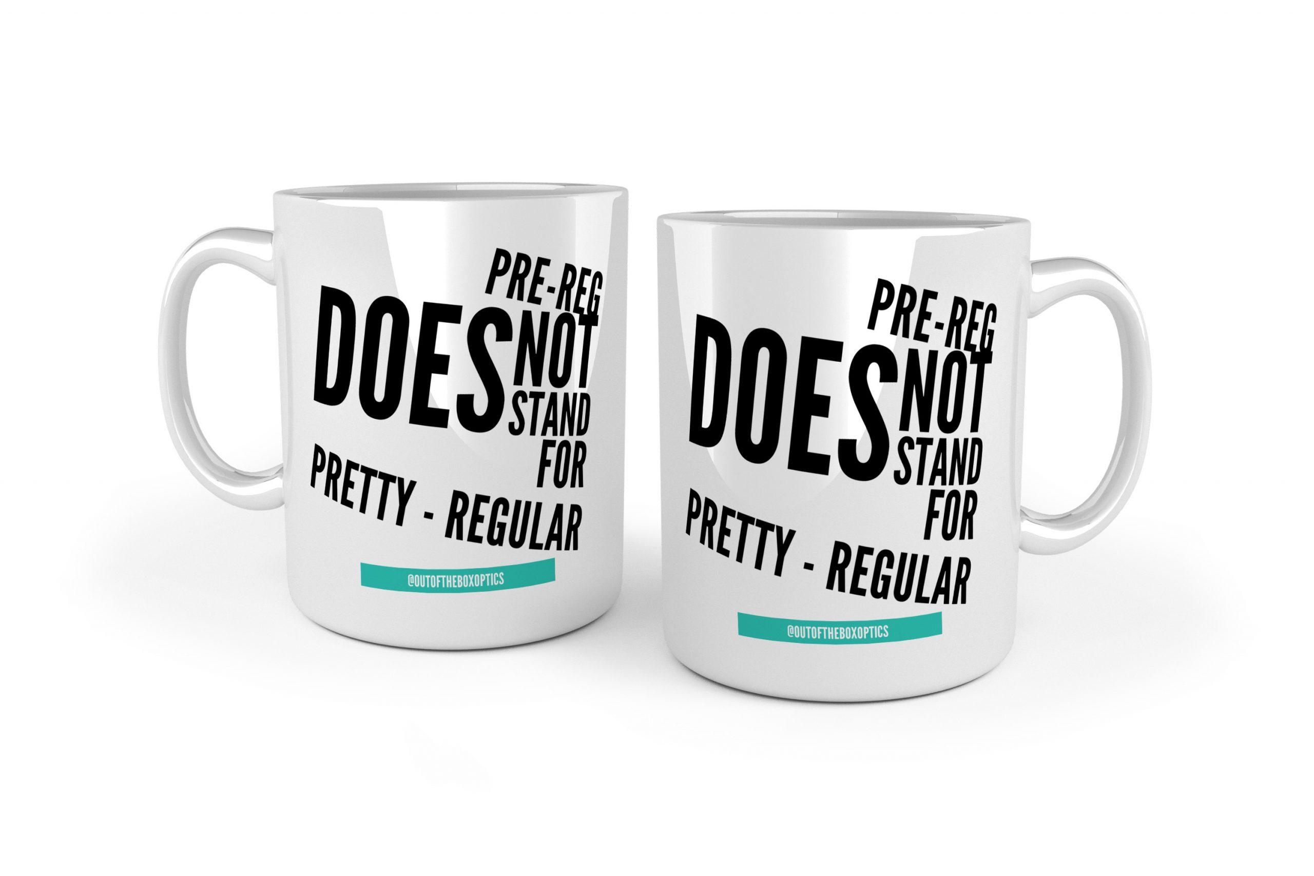 Not Pretty-Regular – Ceramic Mug