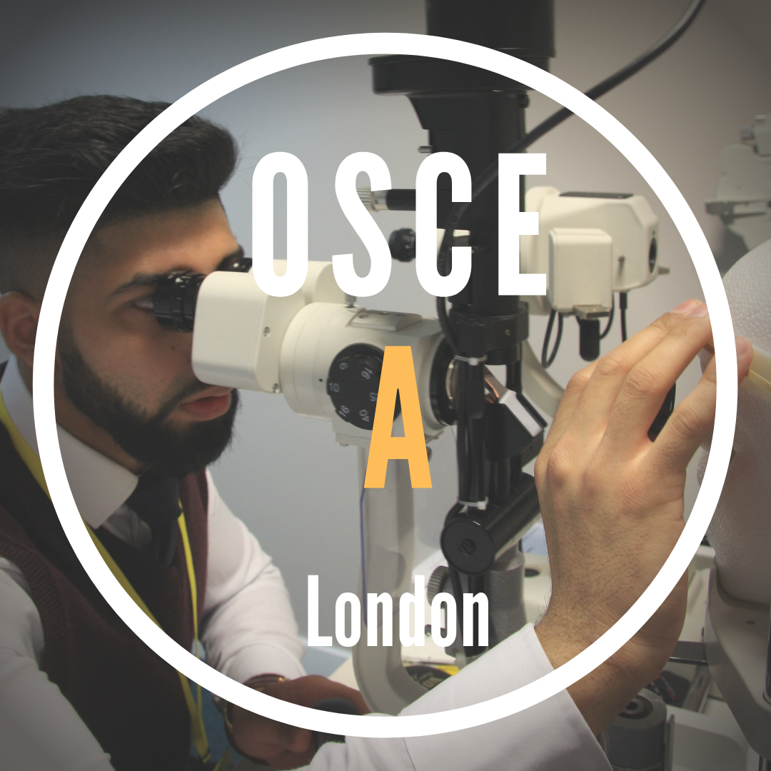 OSCE A|London|Sat 11 Sep|9.00am-11.00am