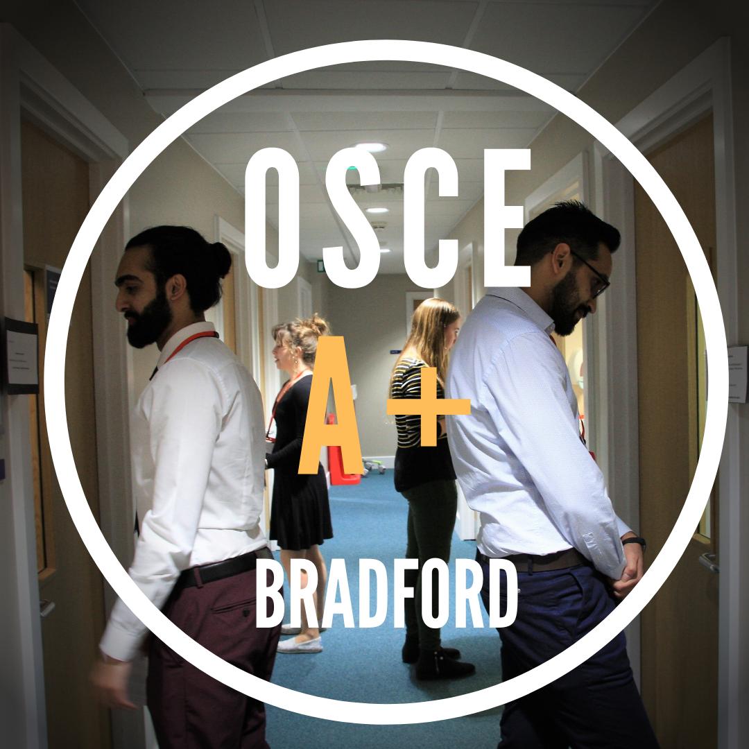 OSCE A+|Bradford|Sun 5 Sep|8.30am-12pm
