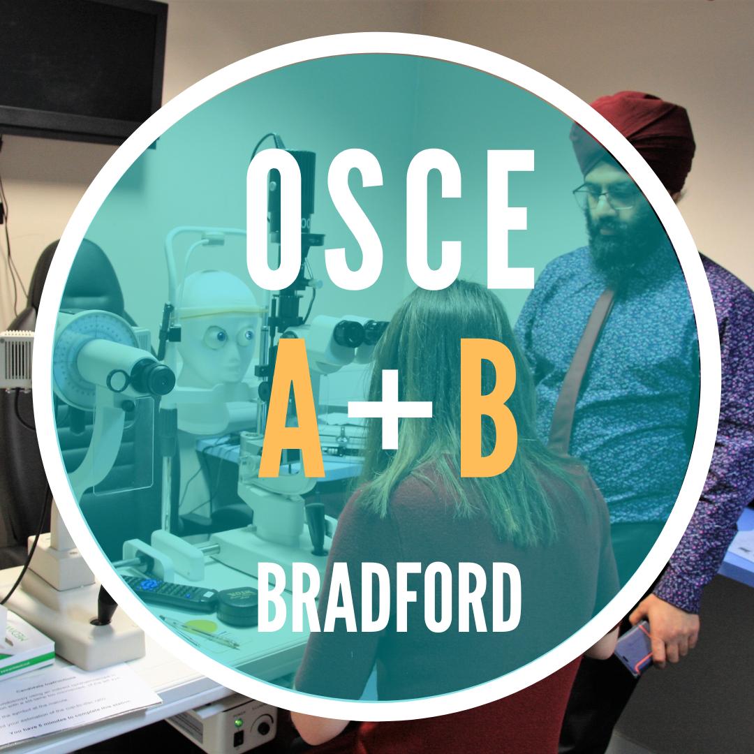 [EARLY BIRD] OSCE A+ & B+ (Combined)|Bradford|Sun 5 Sep|8.30am-5pm