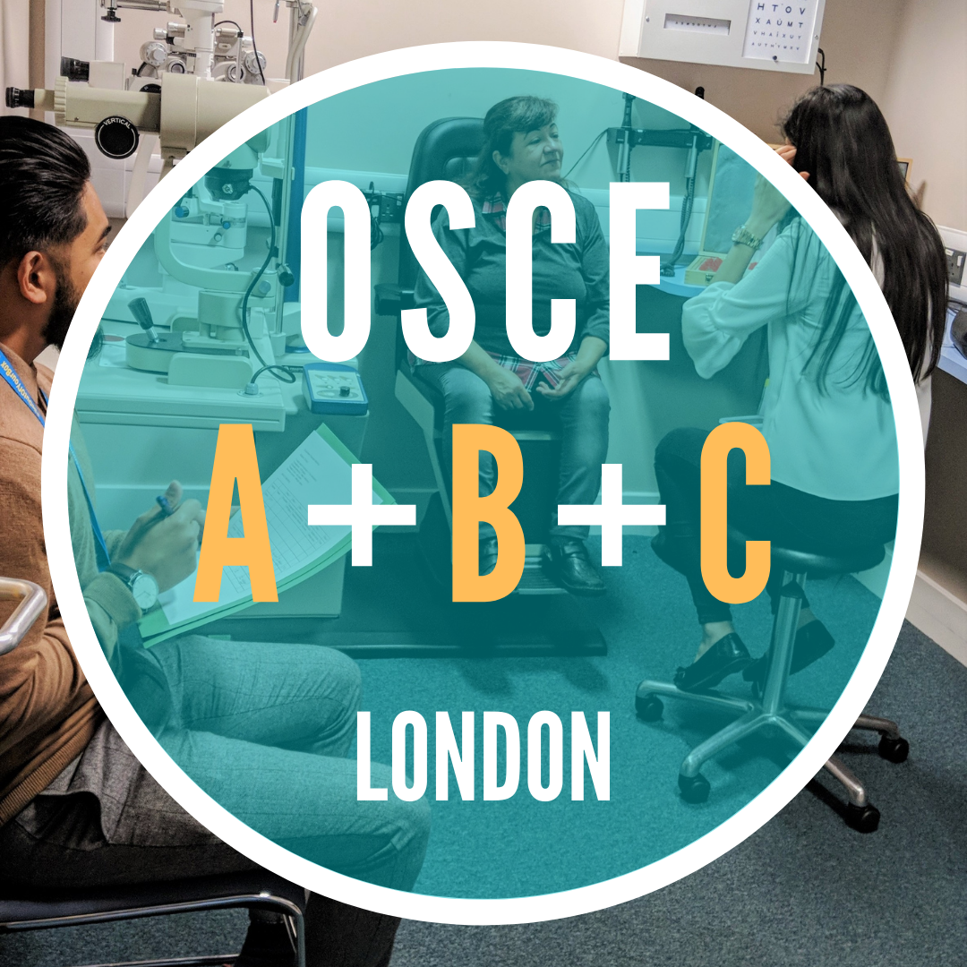 Fully Booked [EARLY BIRD] OSCE ABC (Combined)|London|Sat 11 Sep|9.00am-4.30pm